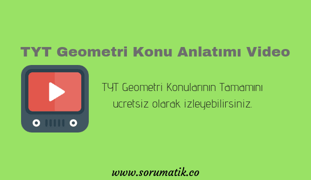 tyt geometri video-tyt geometri konu anlatımı video-tyt geometri youtube